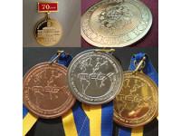 Изготовление памятных медалей