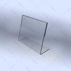 L-образный ценник под формат 40x30мм