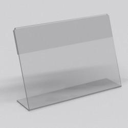 Горизонтальный прижимной менюхолдер А6 L-образный
