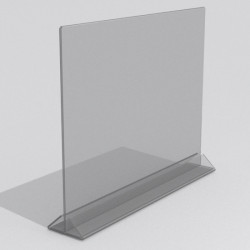 Тейбл тент горизонтальный формата А3