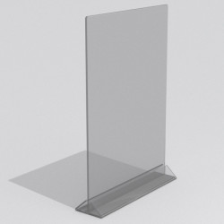Тейбл тент вертикальный формата А3