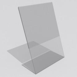 Менюхолдер А4 вертикальный (L-образный)
