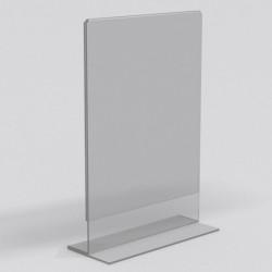 Холдер прижимной вертикальный А5 формата