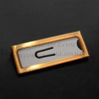 Бейджи металлические с полимерным покрытием 25х70мм