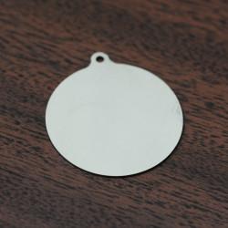 Круглые брелоки под нанесение логотипа