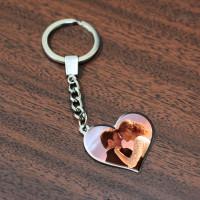 Брелок на ключи с фото