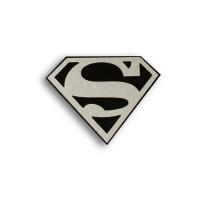 Металлический шильдик на авто эмблема SUPERMAN