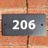 Акриловая табличка на дом 600х310 мм