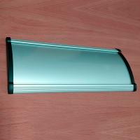 Табличка надверная алюминиевая для сменной информации, 210х68 мм