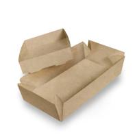 Суши, упаковка-коробка 210х110х50 мм. Крышка/Дно. Крафт