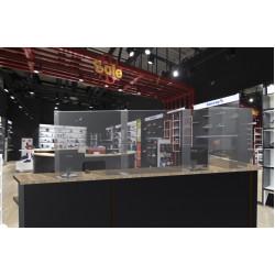 Защитный экран - ограждение 440х630 мм боковая стенка 170 мм