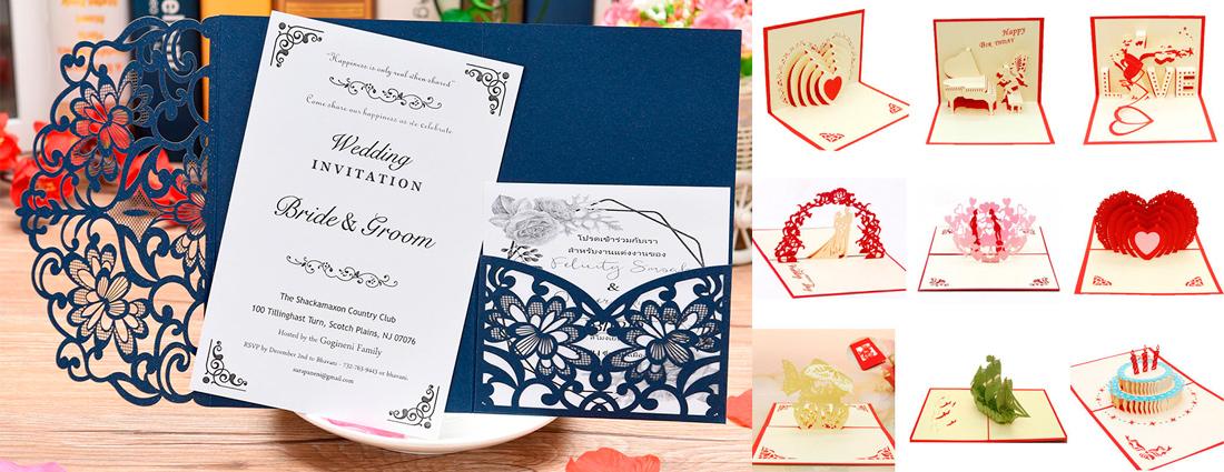 Печать открыток Харьков. Любые форматы, формы  и идеи открыток, оформление и дизайн открыток