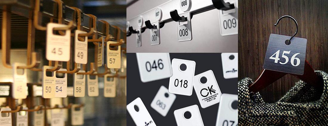 Заказать номерки для гардероба - изготовление номерков с доставкой в Киев и по Украине.