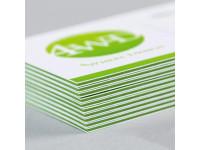 Кашированные визитки